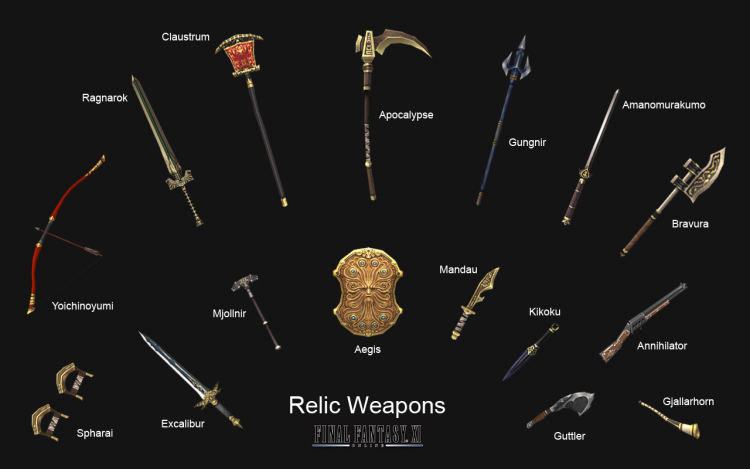 Relic Weapons